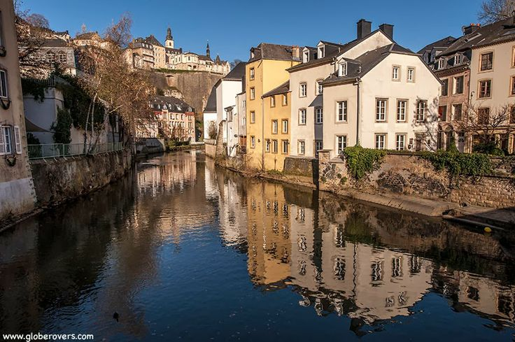 "The Ville Basse (""Low City"") of old LUXEMBOURG"