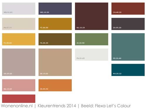 Kleurentrends 2014: Urban Folk