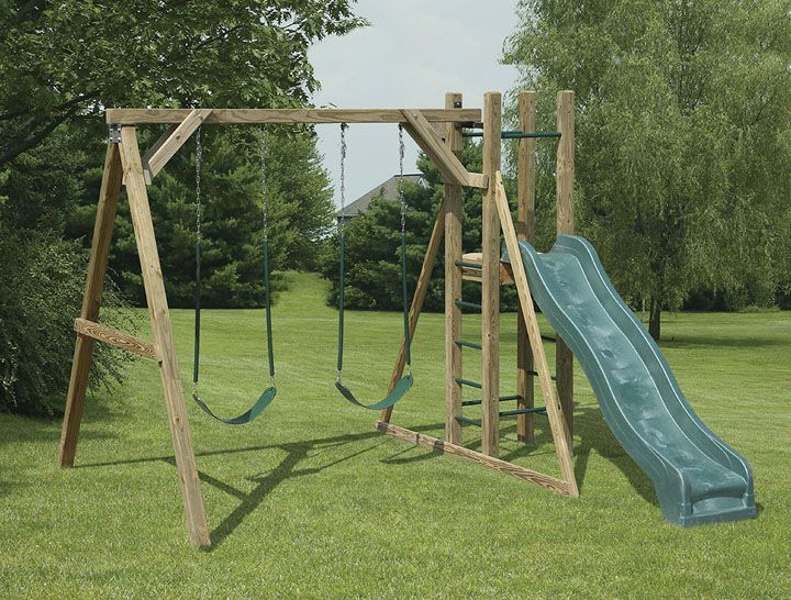 a frame wooden swing set plans woodworking projects plans
