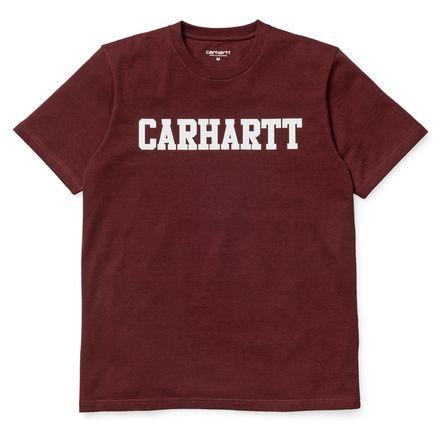 Carhartt WIP S/S College T-Shirt http://shop.carhartt-wip.com:80/us/men/new/tshirts/I015730/ss-college-t-shirt