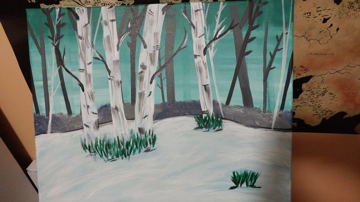 Birch Trees March 22 2017