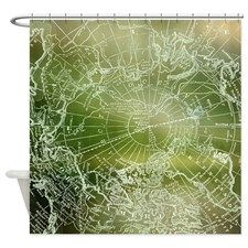 18 best images about shower curtains on pinterest - Forest green shower curtain ...