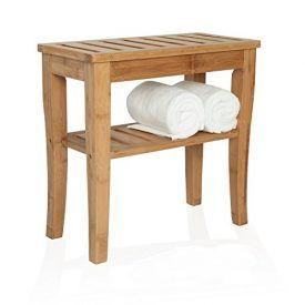 Compact and naturally water-resistant, this bamboo bench is perfect for adding comfort and convenience to the bathroom, including most showers. Constructed of natural bamboo for eco-friendly durability in wet environments, this versatile bench can also be used outdoors, both for seating or as a stylish plant stand on the deck or patio. Its small size […]