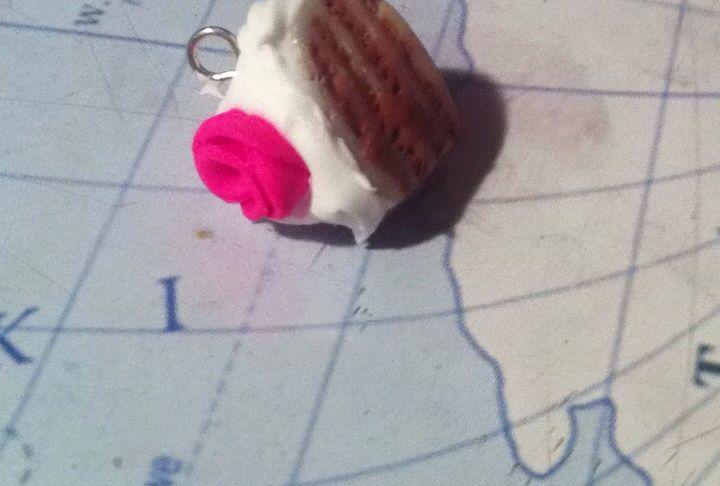 Miniature FIMO cake made by me :)