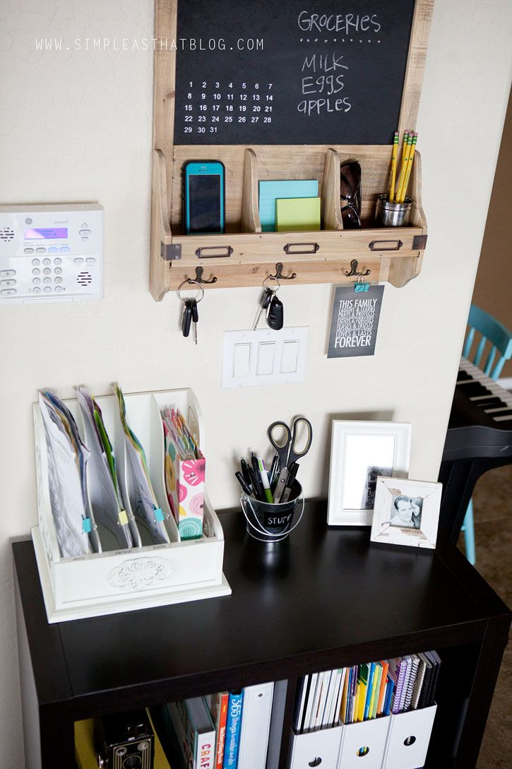 7 best home command images on Pinterest | Organization ideas ...