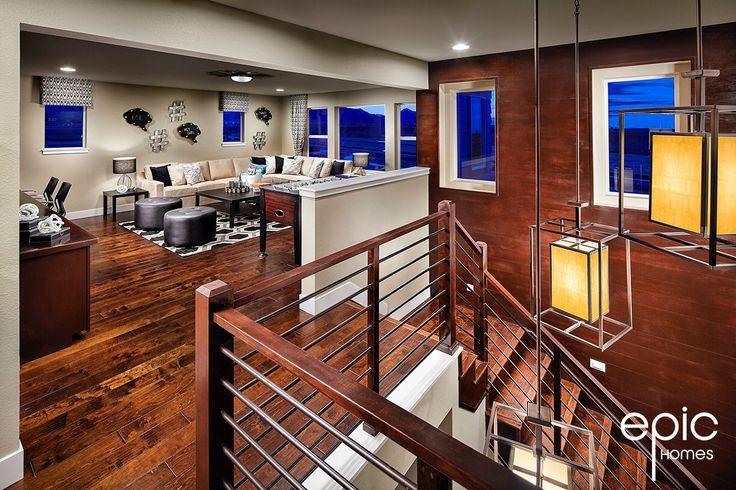 Summit Model Bonus Room - 3498 Sq ft Model - Epic Homes, Leyden Rock, Arvada Colorado