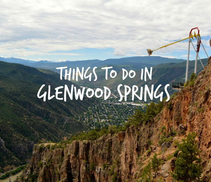 What to do in Glenwood Springs, Colorado : the best things to do in Glenwood Springs Co.   Glenwood Springs Colorado things to do   GGlenwood Springs travel tips   Glenwood Springs travel guide   Glenwood Springs with kids - via @elainschoch