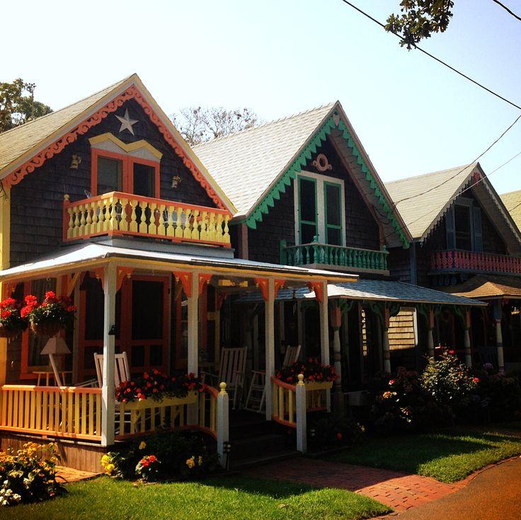 Oak Bluffs cottages (Martha's Vineyard)