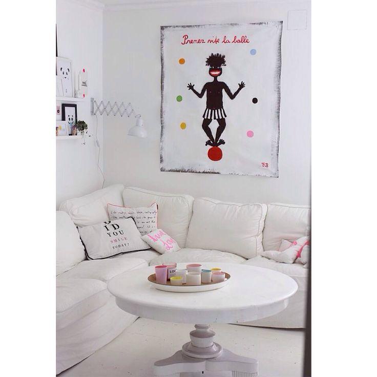 Gitte Brandt in my livingroom