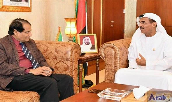 Abdullah Al Nuaimi, Indian Minister of Commerce and Industry