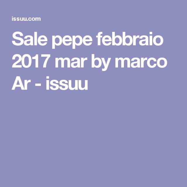 Sale pepe febbraio 2017 mar by marco Ar  - issuu