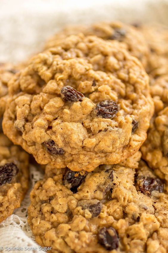 Classic Soft and Chewy Oatmeal Raisin Cookies. Sometimes you just need a classic! These cookies are soft, chewy and bursting with so much flavor!