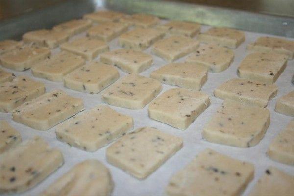 UPDATE. I made these, and they are the most delicious cookies on the planet. The cookie dough is amazing too. Lavender Shortbread Cookies