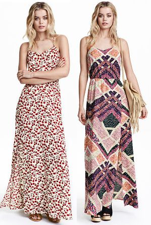 (4 Colors) H&M Maxi Dress