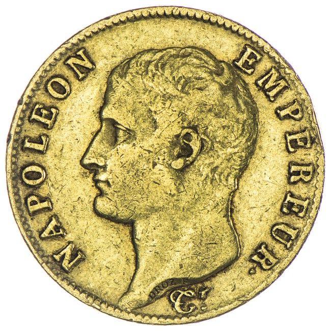 20 Francs 1806 A, Gold