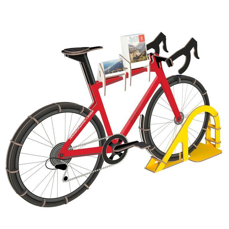 Las 25 mejores ideas sobre porta bicicleta en pinterest y - Gimnasio espana industrial ...
