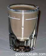 Screaming Orgasm:  1 oz. Vodka  1 oz. Irish Cream  1 oz. Coffee Liqueur  1 oz. Amaretto