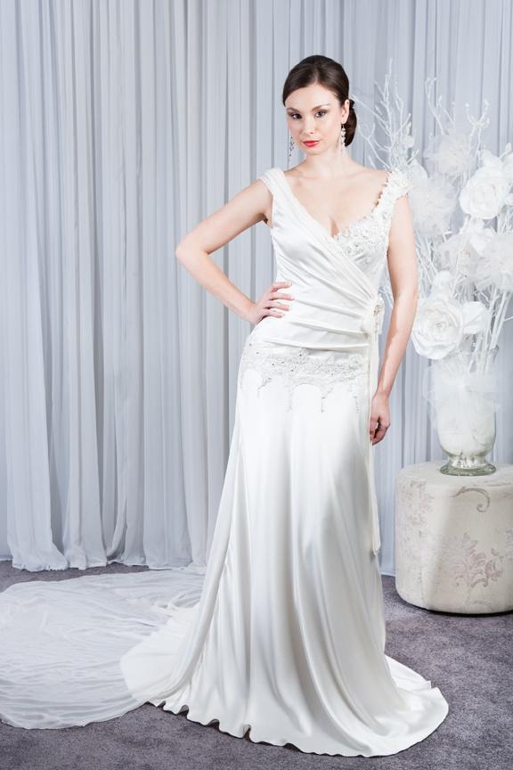 Madeline Art Deco Inspired Wedding Dresses Pinterest