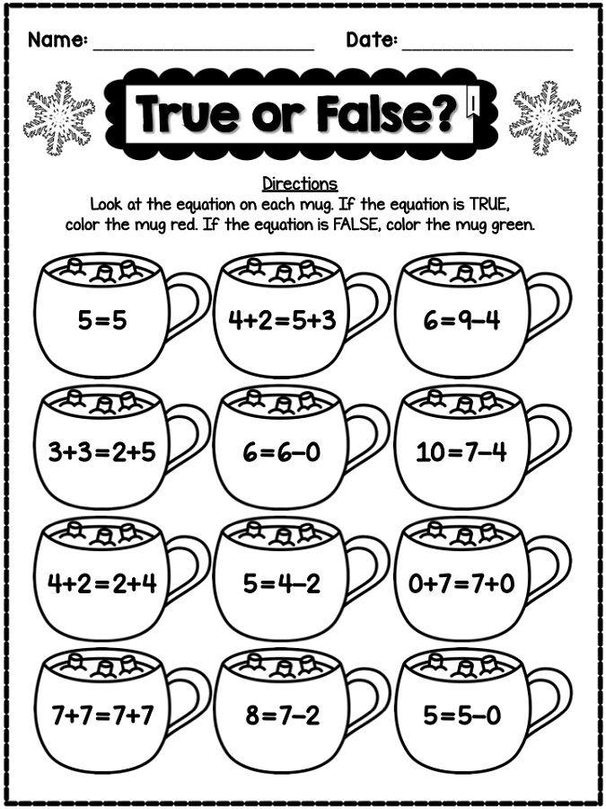 Fun Math Worksheets Fun Math Worksheets Winter Math Worksheets Kindergarten Math Worksheets Fun math worksheets grade printable