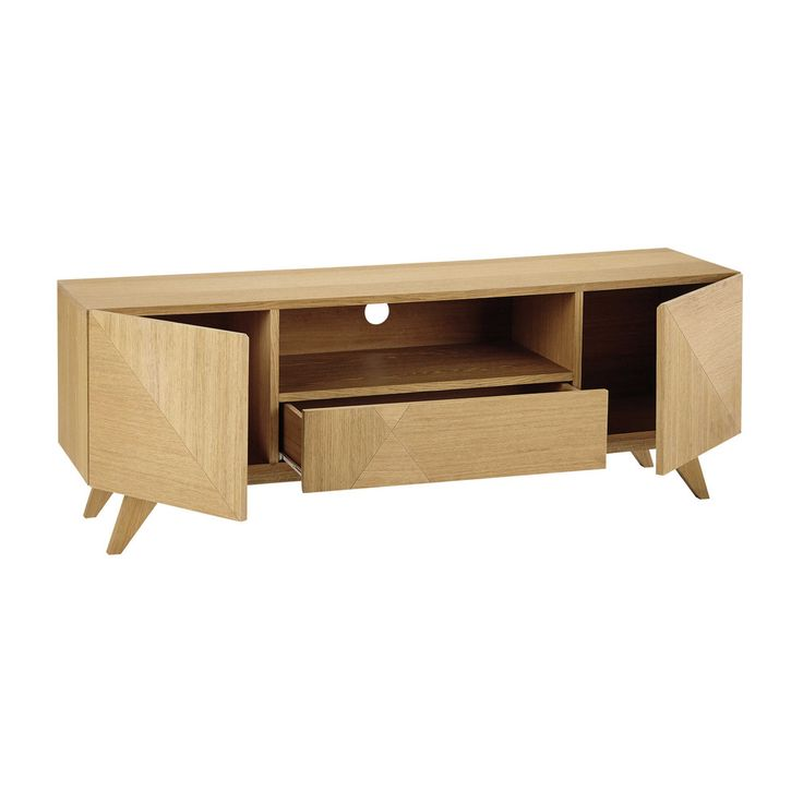 Wooden TV unit W 150cm - Origami