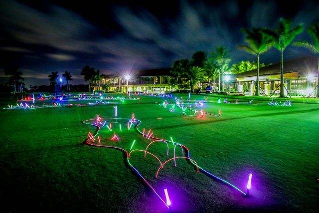 Glow golf- a unique and fun activity for your next event! All of our premier Golf courses can be enhanced with this fun addition, let SWCP show you the way