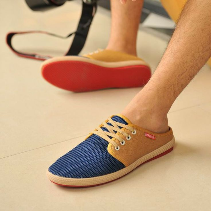 free shipping 2014 summer men slippers sandals cotton-made shoes leather mosaic net fabric breathable cutout hole shoes tk1766 711,92 руб.