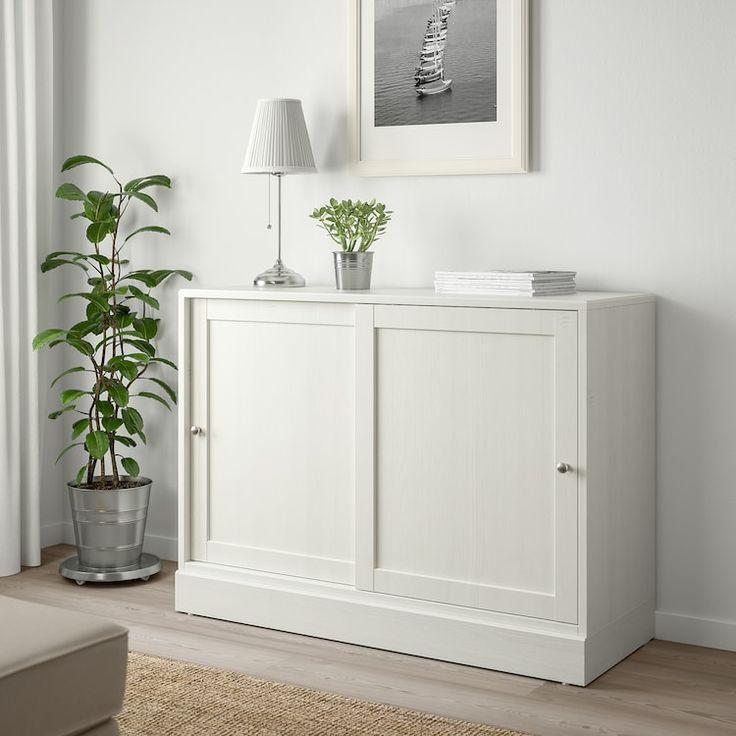 Best Ikea Havsta White Cabinet With Base In 2020 Ikea 640 x 480