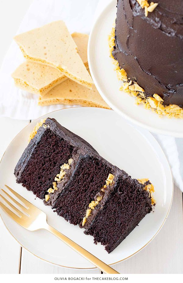 Honeycomb cake recipe uk