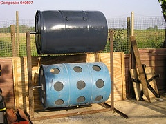 Double Compost Barrel