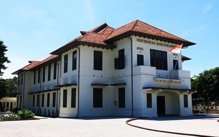 Muntok town, where President Soekarno stayed during his exile.