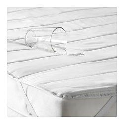 NATTLIG Protection matelas étanche, blanc - 70x160 cm - IKEA