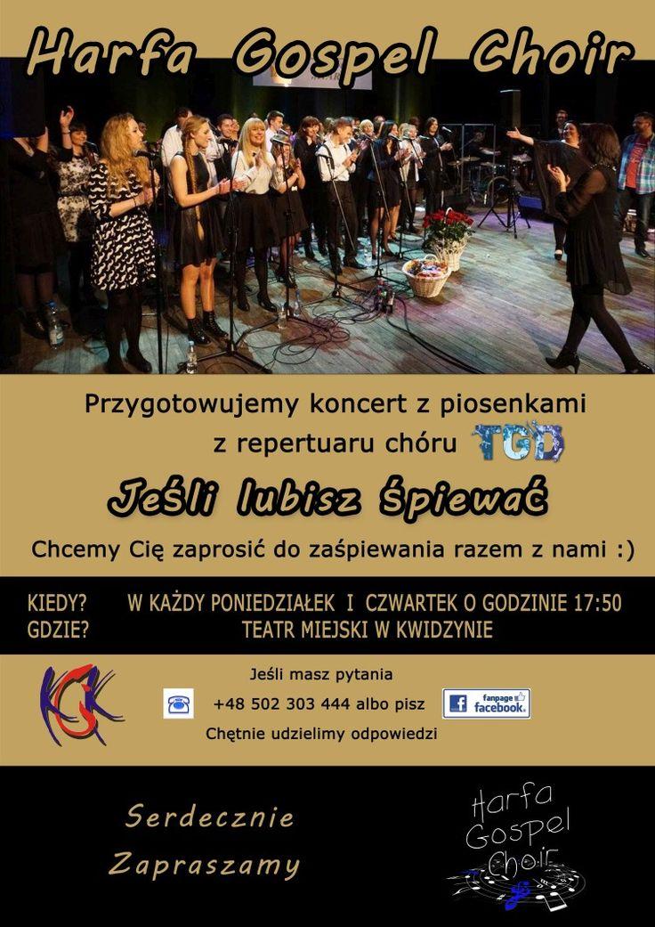Harfa Gospel Choir zaprasza do śpiewania