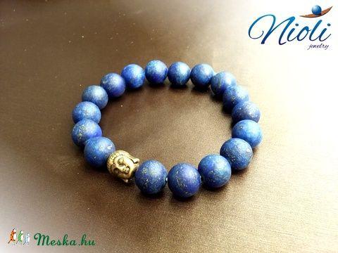 Meska - Igazság éjkék karkötője Niolijewelry kézművestől