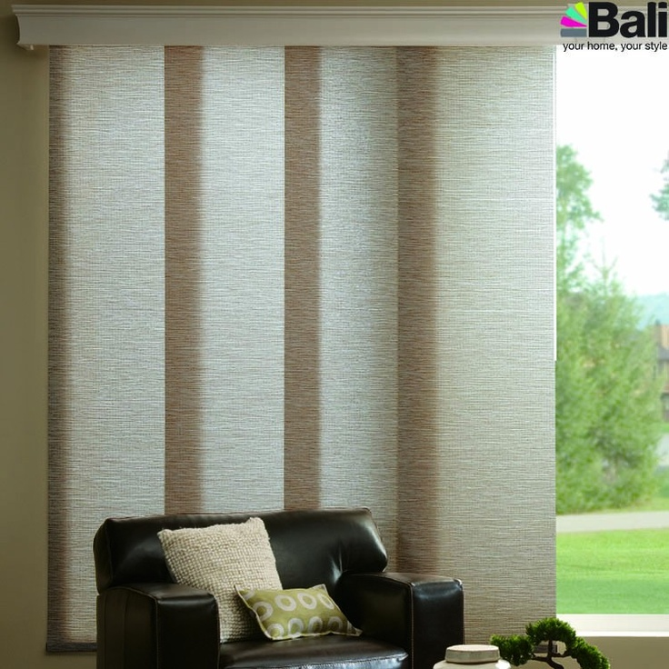 Bali Sliding Panels Roller Shades Fabric Dupont Design