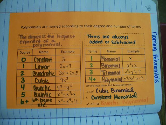 Printables Naming Polynomials Worksheet 1000 images about algebra polynomials on pinterest math love 2 inb naming polynomials