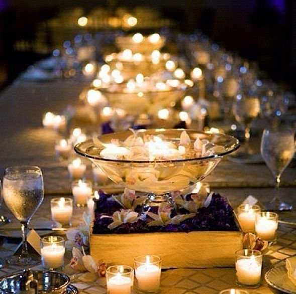 Candlelight dinner parties