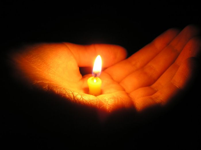 """How far that little candle throws his beams, so shines a good deed in a weary world""....."