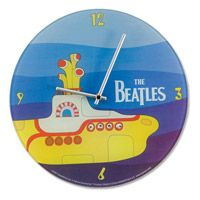 The Beatles Yellow Submarine Wall Clock  http://www.retroplanet.com/PROD/34408Submarines Wall, The Beatles, Submarines Clocks, Yellow Submarines, Beatles Yellow, Glasses Wall, Beatles Wall, Wall Clocks, Submarines Glasses