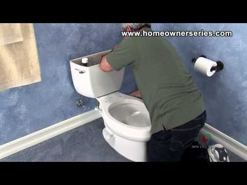 ▶ How to Fix a Toilet - Complete Toilet Replacement - Part 3 of 3 - YouTube