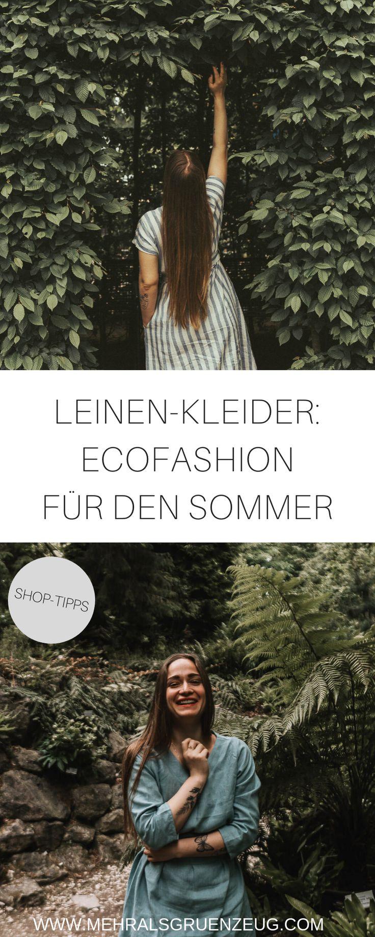 Nachhaltige Leinen-Kleidung für den Sommer: Warum das eine gute Idee ist und wo du sie herbekommst