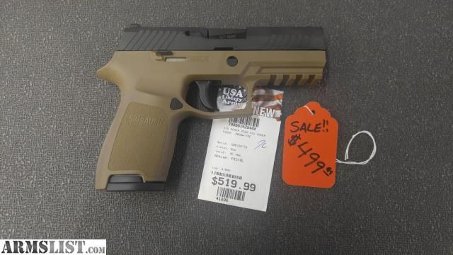 For Sale:  Sig P320 FDE