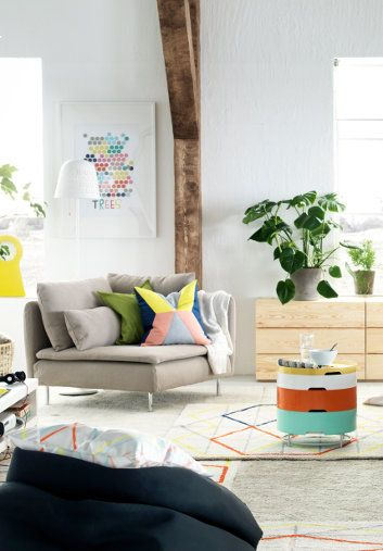 Embrace colour with items from Ikea's new 2015 range.