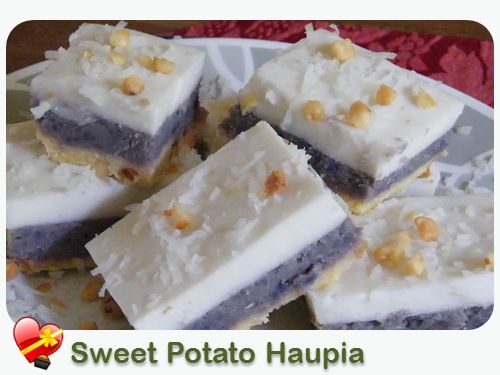 Sweet Potato Haupia Pie - ILoveHawaiianFoodRecipes