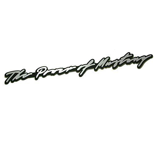DETAILKOREA 自動車 筆記体 スローガン エンブレム フォードマスタング for Ford Mustan... https://www.amazon.co.jp/dp/B01IARCO4E/ref=cm_sw_r_pi_dp_YEJHxbZWEZKSR #自動車 #エンブレム