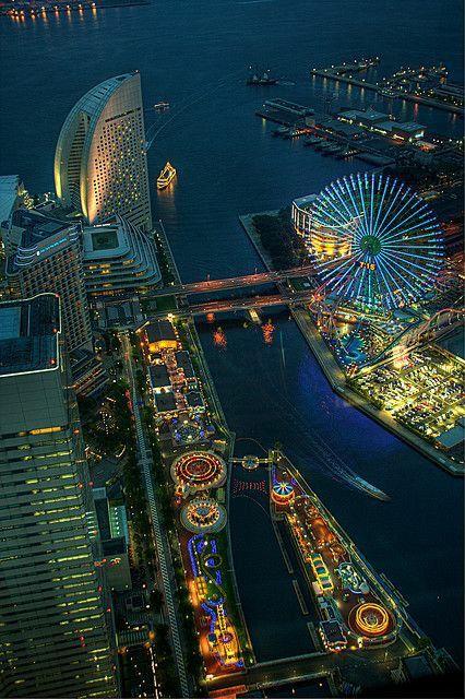 Yokohama-Amusement-Park-Japan