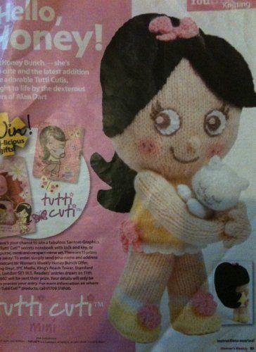 Hello Honey Tutti Cuti toy knitting pattern by Alan Dart magazine pullout by Alan dart, http://www.amazon.co.uk/dp/B00F6YWB8E/ref=cm_sw_r_pi_dp_rGNitb0H9HAPH