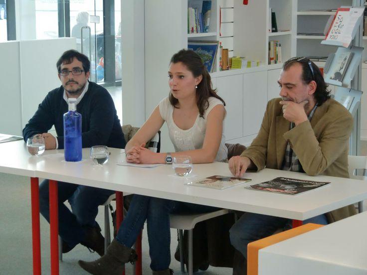 """Presentación del libro """"La perla del Greco"""" con Lucía González Piquín y Goyo Rodríguez."""