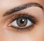 Pure Hazel Non Prescription Colored Contact Lenses - Freshlook One Day