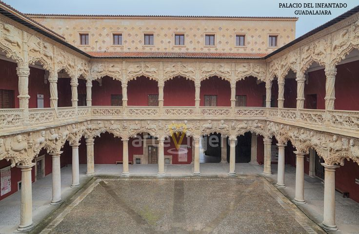 Palacio del Infantado, Guadalajara. Vista del Patio de los Leones