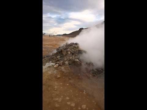 Islanti: vesihöyryä maan uumenista